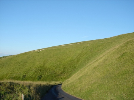 Vale of White horse from Uffington